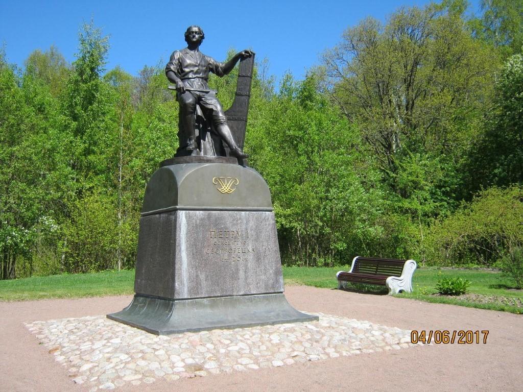 Как находят клады. Памятник Петру Iвпарке «Дальние Дубки»