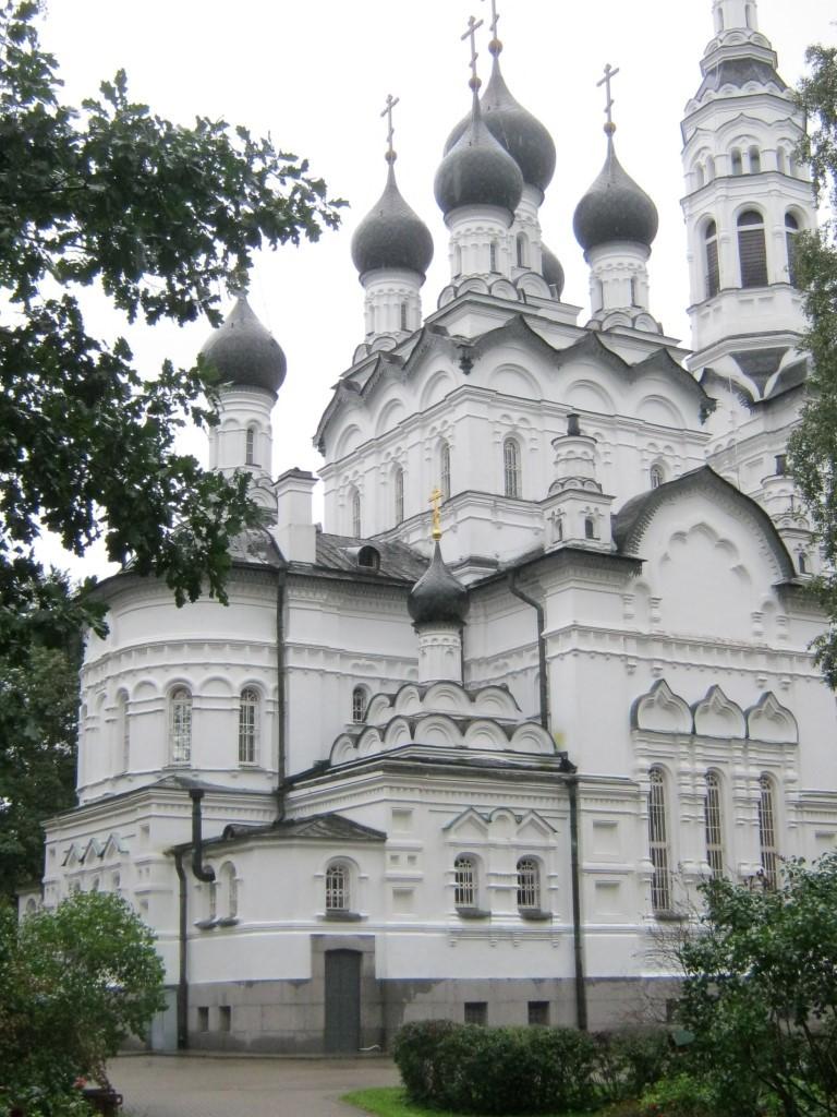 Храмы Санкт-Петербурга: фото с названием и описанием. Северо-восточный вид храма