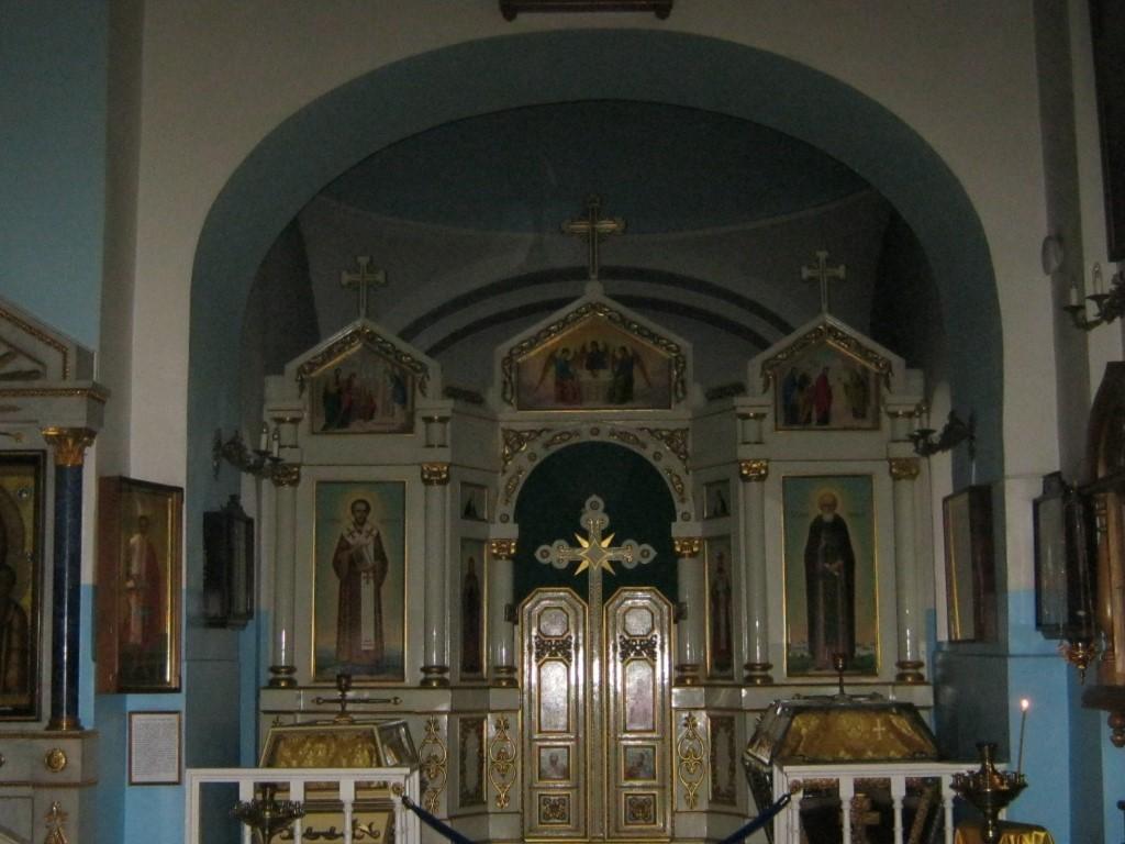 Храмы Санкт-Петербурга: фото с названием и описанием. Фрагмент внутреннего убранства церкви
