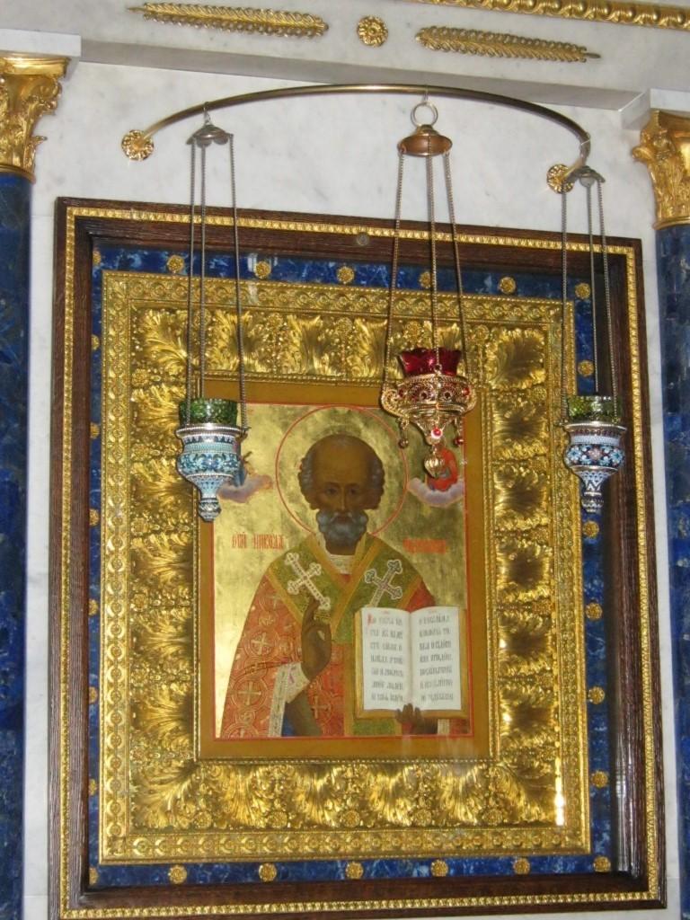 Храмы Санкт-Петербурга: фото с названием и описанием. Икона Святого Николая чудотворца