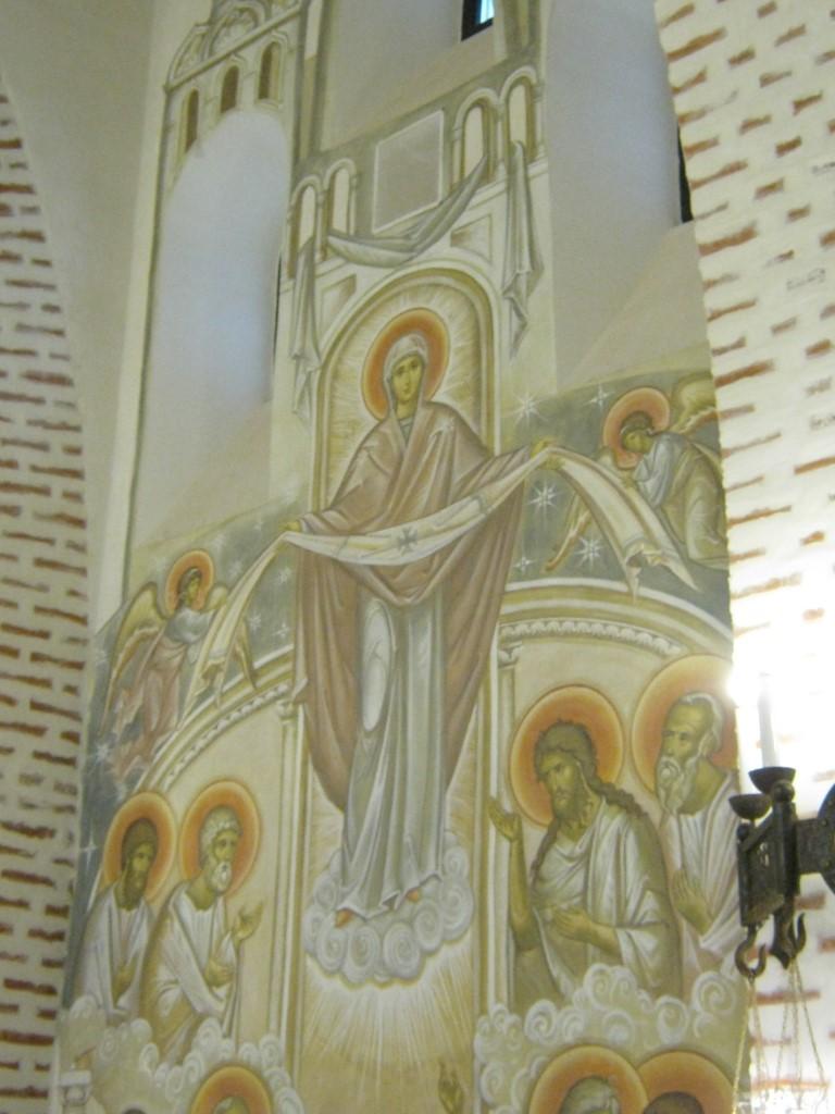 Храмы Санкт-Петербурга: фото с названием и описанием. Фреска в честь Покрова Пресвятой Богородицы