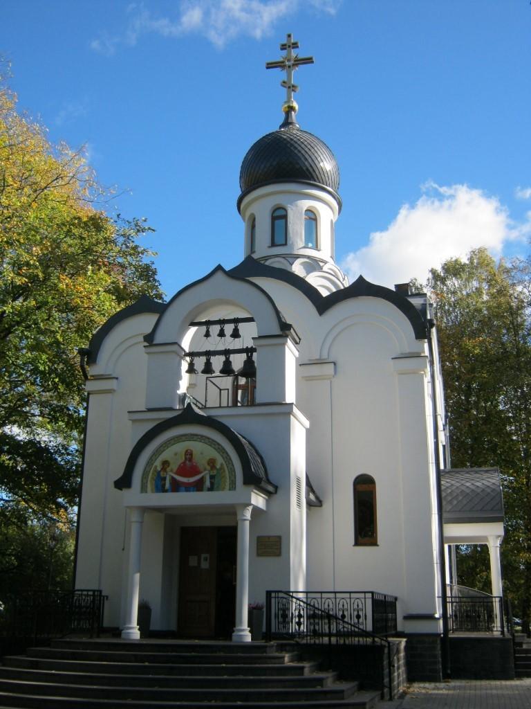 Храмы Санкт-Петербурга: фото с названием и описанием. Часовня Преображения Господня с запада
