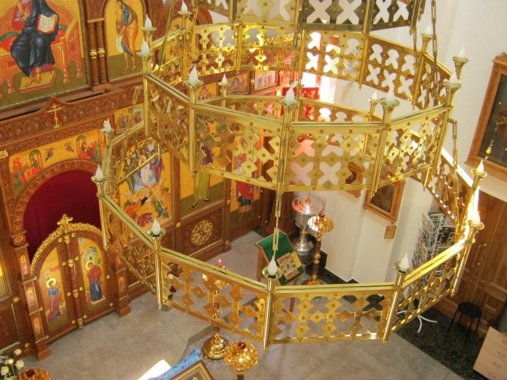 Храмы Санкт-Петербурга: фото с названием и описанием. Главный светильник, вид сверху