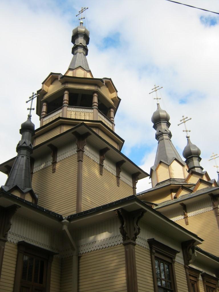 Храмы Санкт-Петербурга: фото с названием и описанием. Вид церкви с юго-запада