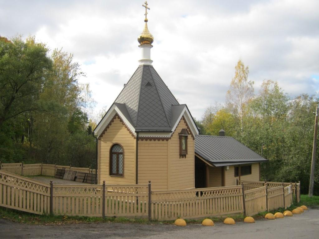 Храмы Санкт-Петербурга: фото с названием и описанием. Юго-восточный вид часовни с купелью