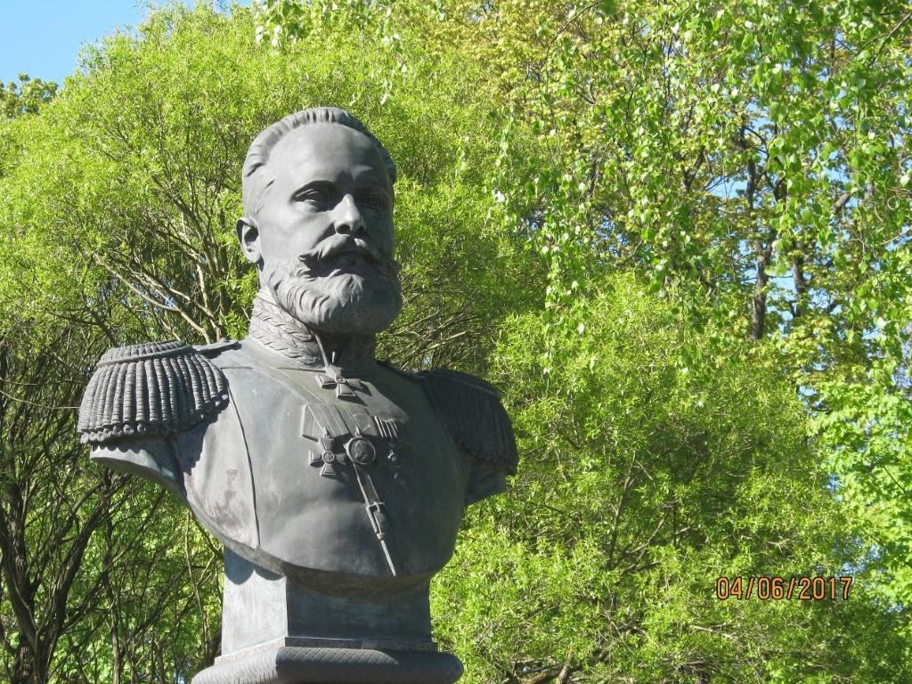 Как находят клады. Памятник Сергею Ивановичу Мосину