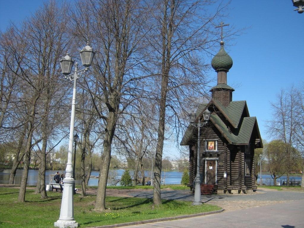 Храмы Санкт-Петербурга: фото с названием и описанием. Часовня Святителя Николая Чудотворца (вид с юго-запада)