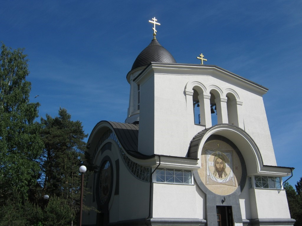 Храмы Санкт-Петербурга: фото с названием и описанием. Вид часовни с северо-запада